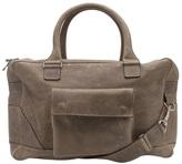 Balmain Distressed leather bag