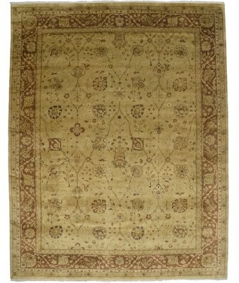 Canora Grey Square Marguerite Oriental Tufted Wool Sienna Area Rug Shopstyle
