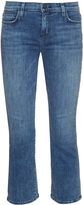 Current/Elliott The Kick high-rise flared jeans