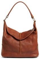 Frye Cara Leather Hobo Bag - Brown