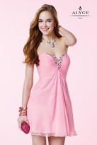 Alyce Paris Homecoming - 3668 Dress in Cotton Candy