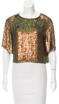 3.1 Phillip Lim Sequined Boxy Blouse