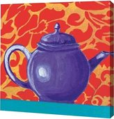 "PrintArt GW-POD-29-JLP473-12x12 ""Tempest in A Teapot I"" by Liz Jardine Gallery Wrapped Giclee Canvas Art Print"