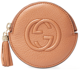 Gucci Vintage Brown Leather Soho Coin Pouch