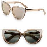Jimmy Choo 57mm Cat Eye Sunglasses