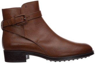 Tod's Block-Heel Ankle Boots