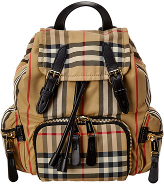 Burberry Small Vintage Check Backpack