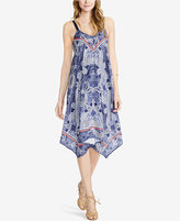 Jessica Simpson Maternity Printed Handkerchief-Hem Dress from Motherhood Maternity