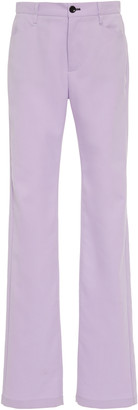 Proenza Schouler White Label Tailored High-Waisted Jersey Pants