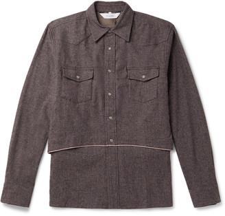 SASQUATCHfabrix. Layered Woven Shirt