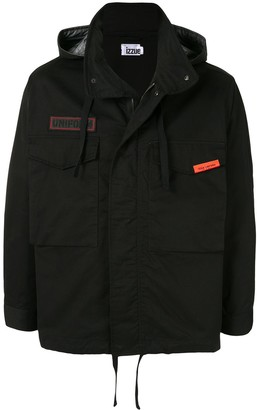 Izzue Reserved hooded jacket