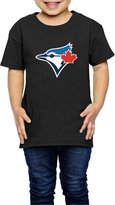 Sofia-Child Toronto Blue Jays Baseball Team Logo Kids Shirts (2-6 Toddler)