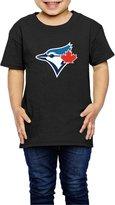 Sofia-Child Toronto Blue Jays Baseball Team Logo Kids T-shirts 4 Toddler (2-6 Toddler)