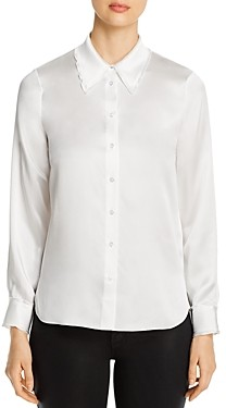 Elie Tahari Calia Collared Shirt
