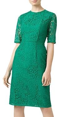 Hobbs London Penny Lace Sheath Dress