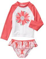 Gymboree Daisy 2-Piece Swim Set