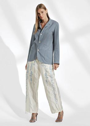 Ralph Lauren Lydia Silk Cargo Pant