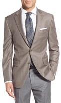 Peter Millar Men's Classic Fit Houndstooth Wool Sport Coat