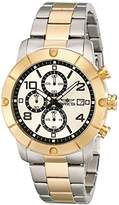Invicta Men's 17767 Specialty Analog Display Japanese Quartz Two Tone Watch
