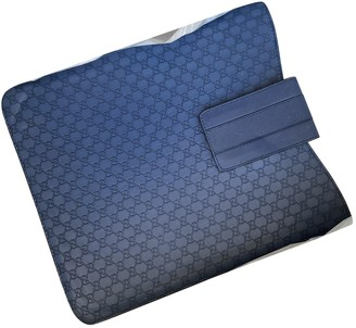 Gucci Blue Leather Accessories