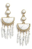 BaubleBar Women's Nora Drop Earrings