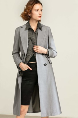 J.ING Diana Grey Princess Coat