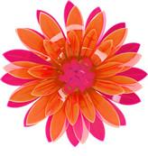 Issa Azalea Neon Acrylic Flower Brooch