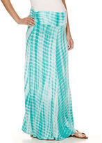 Asstd National Brand Maternity Maxi Skirt