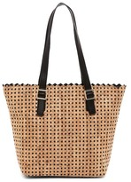 Sondra Roberts Perforated Cork Tote