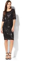 New York & Co. Sequin Sheath Dress