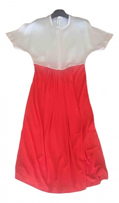 Marni Red Synthetic Dresses