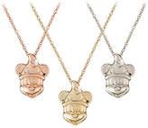 Disney Diamond Sorcerer Mickey Mouse Necklace - 18 Karat