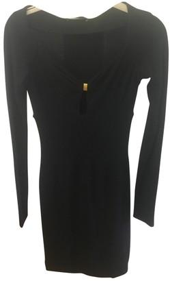 DSQUARED2 Black Wool Dresses