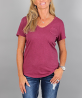 Ambiance Pink V-Neck Tee