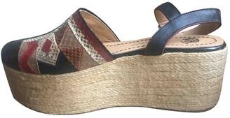 Maliparmi Multicolour Leather Sandals