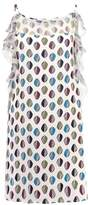 Sisley VESTITO Summer dress white