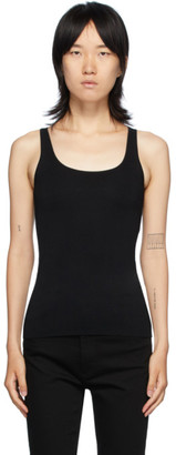 Totême Black Urda Tank Top