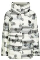 Escada Sport Butterfly Print Quilted Down Jacket