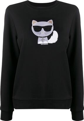 Karl Lagerfeld Paris Ikonik Choupette sweatshirt