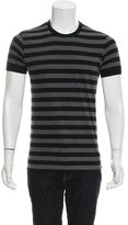 Dolce & Gabbana Striped Crew Neck T-Shirt
