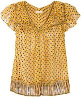 Ulla Johnson shortsleeved dotted blouse