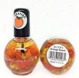 Blue Cross Blossom Cuticle Oil with Real Flowers 0.5oz (BLCOF4 - Orange)