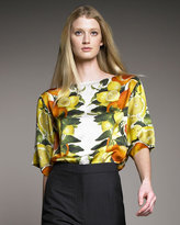 Boxy Lemon Blouse