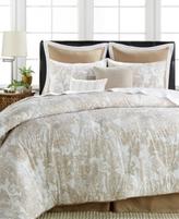 Sunham CLOSEOUT! Everett 8-Pc. Cotton/Linen Queen Comforter Set