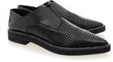 Helmut Lang Benday Black Oxford Shoe