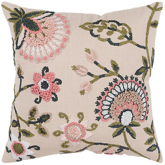 One Kings Lane Lana 20x20 Pillow - Beige - beige/multi