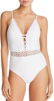 Becca by Rebecca Virtue Siren Ring One Piece Swimsuit