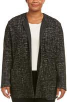 Marina Rinaldi Wool-Blend Coat