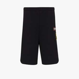 Vetements Russian Police knee-length track shorts