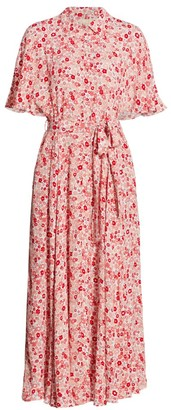 By Ti Mo Summer of Love Maxi Shirtdress
